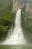 Cascata in canyon di Sumidero Immagini Stock Libere da Diritti