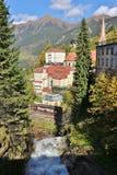 Cascata in cattivo Gastein, Austria, Europa Immagine Stock Libera da Diritti