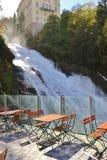 Cascata in cattivo Gastein, Austria, Europa Immagini Stock