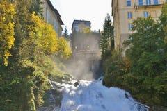 Cascata in cattivo Gastein, Austria, Europa Immagini Stock Libere da Diritti