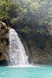 Cascata Cebu Filippine di Kawasan fotografie stock libere da diritti