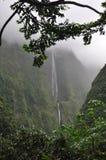 Cascata in Cirque de Salazie, Reunion Island Fotografia Stock