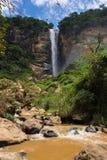 Cascata Conde Deu в Sumidouro, Рио-де-Жанейро, Бразилии Стоковые Фото