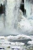 Cascata congelata Immagine Stock