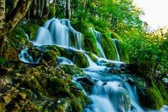 Cascata in Croazia Immagini Stock