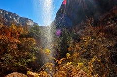 Cascata da água Imagens de Stock Royalty Free