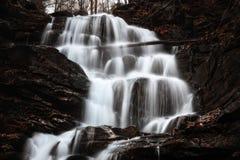 Cascata da água Imagem de Stock Royalty Free