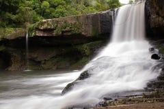 Cascata da Usina Velha瀑布 库存图片