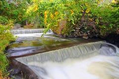 Cascata de Northwoods Michigan Foto de Stock