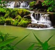Cascata dei lek di Muak in Tailandia Fotografie Stock
