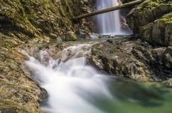 Cascata del canyon Immagini Stock Libere da Diritti