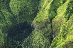 Cascata del canyon di Waimea, Kauai Immagine Stock