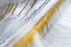 Cascata del fiume di Battle Creek Immagine Stock