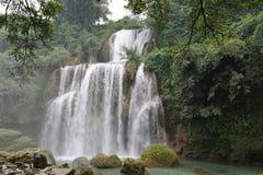 Cascata del fiume di Longxu Immagini Stock Libere da Diritti