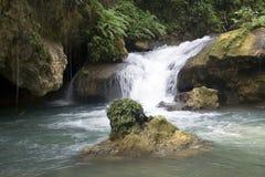 Cascata del fiume di YS Fotografia Stock Libera da Diritti