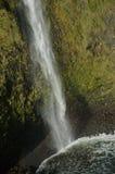Cascata del fronte della scogliera Immagine Stock