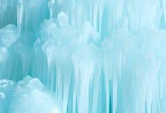 Cascata del ghiaccio Fotografie Stock