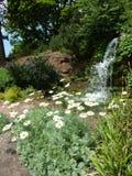 Cascata del giardino Immagine Stock Libera da Diritti