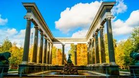 Cascata del leone della fontana Fotografia Stock Libera da Diritti