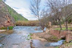 Cascata del mondo nel fiume I Immagini Stock Libere da Diritti