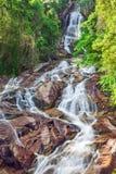 Cascata del Na Muang 2, KOH Samui, Tailandia fotografia stock libera da diritti