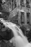 Cascata del parco di Gatineau Fotografia Stock
