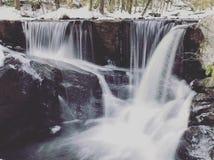 Cascata del parco di stato di Enders Fotografia Stock