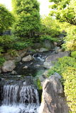 Cascata del tempio di Sensoji Fotografia Stock