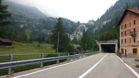 Cascata del Toce Ιταλία Στοκ Εικόνες