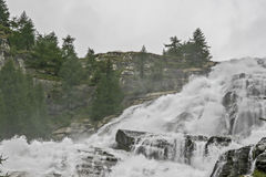 Cascata del Toce - detalhe Imagem de Stock Royalty Free