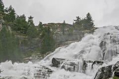 Cascata del Toce - detalle Imagen de archivo libre de regalías