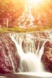 Cascata dell'alta montagna Immagini Stock Libere da Diritti