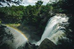 Cascata dell'arcobaleno Immagini Stock Libere da Diritti