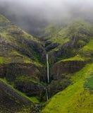 Cascata dell'Islanda immagini stock