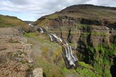 Cascata dell'Islanda Fotografia Stock Libera da Diritti