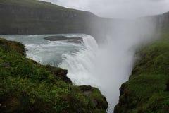 Cascata dell'Islanda Gullfoss Immagini Stock Libere da Diritti