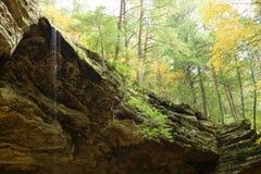 Cascata della caverna Fotografie Stock