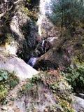 Cascata 1 della montagna immagine stock