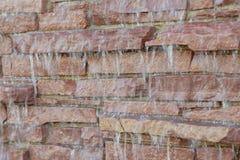 Cascata della roccia Immagine Stock