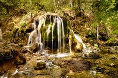 Cascata della sorgente Fotografia Stock Libera da Diritti