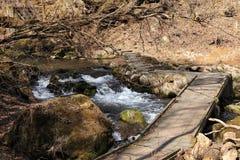 Cascata della torrente montano a Oita, Giappone Immagine Stock