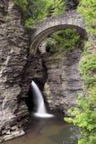 Cascata della valletta di Watkins Fotografia Stock