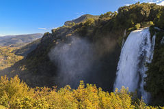 Cascata delle Marmore, Marmore's Falls Royalty Free Stock Photography