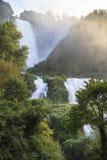 Cascata delle Marmore, Marmore's Falls Stock Photography