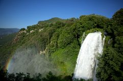Cascata delle Marmore Royalty Free Stock Image