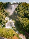 Cascata-delle Marmore, Umbrien, Italien Lizenzfreies Stockfoto