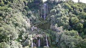 Cascata Delle Marmore waterfalls stock video