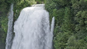 Cascata Delle Marmore waterfalls stock video footage