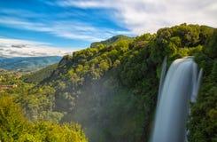 Cascata Delle Marmore waterfalls Stock Photo