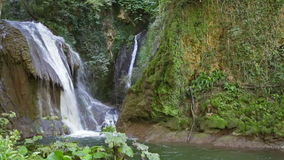 Cascata Delle Marmore waterfalls in Terni stock video footage